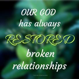 Restored relationship