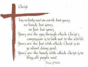 christ has no hands