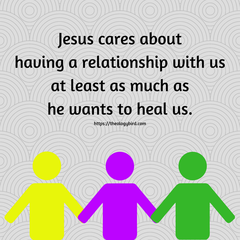 Jesus cares about having a relationship
